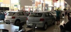 Vendas de carros novos caem até 40% em concessionárias de Goiânia