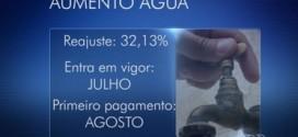 Tarifa de água terá aumento de 32,13% a partir de julho, em Goiás