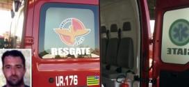 Moto taxista morre em acidente na rotatória da Av. Diógenes de Castro