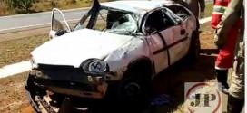 Uma jovem de apenas 21 anos morre vítima de capotamento na BR 060 (GO)