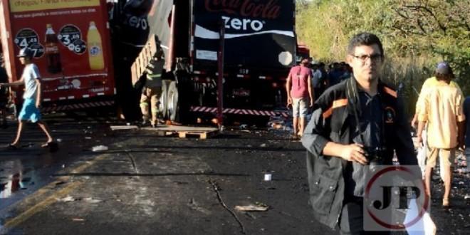 Uma pessoa morre após acidente na BR – 153 município de Nova Glória (vídeo)