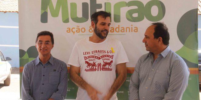 Prefeito Renato de Castro realiza Mutirão em Cafelândia