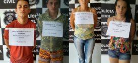 """Operação """"Passando a Limpo"""" leva quatro pessoas à prisão em Itapuranga"""