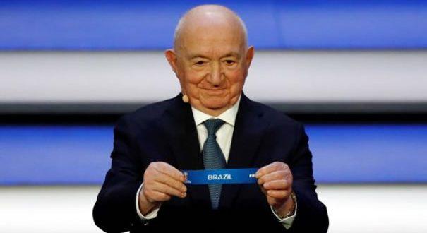 FIFA realiza sorteio da Copa do Mundo na Rússia e Brasil estreia contra Suíça