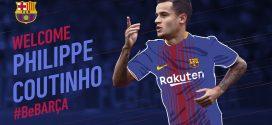 É oficial: Philippe Coutinho é anunciado pelo Barcelona