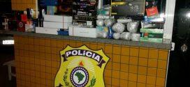 PRF apreende veículos com mercadorias do Paraguai que deveriam abastecer camelódromos de Goiânia
