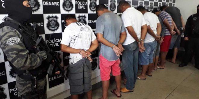 Polícia prende em Goiás grupo suspeito de criar consórcio para traficar drogas no país