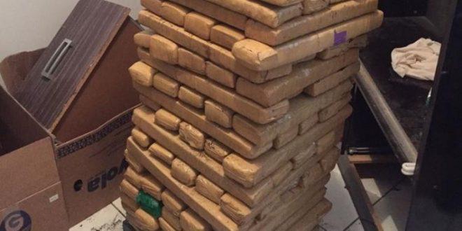Rotam apreende 200 Kg de droga em Goiânia