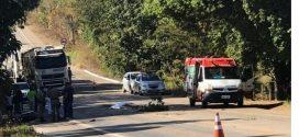 Moradora de Goianésia morre na GO-080 após acidente de moto
