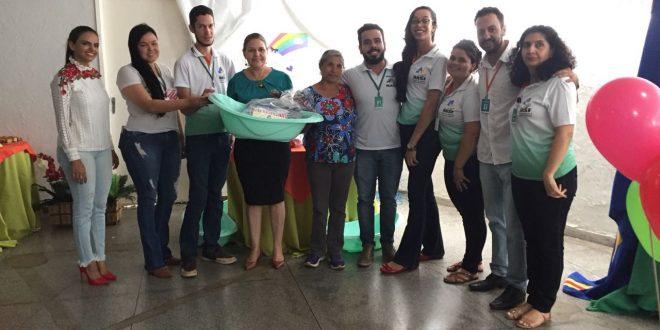 Secretaria de Promoção Social realiza entrega de kits para gestantes do Projeto Doce Mãe