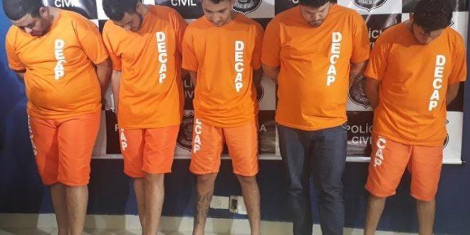 Cinco são presos suspeitos de formar maior quadrilha de roubo de gado de Goiás