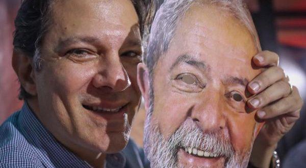 Em carta, Lula diz que Haddad é a sua voz