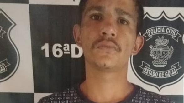 Polícia Civil prende em Rialma, suspeito com nove passagens por furto