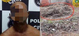 Polícia de Jaraguá prende suspeito de matar homem a enxadada em São Francisco