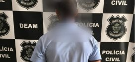 Preso suspeito de ameaçar ex de morte e colocar fogo no carro dela, em Goianésia