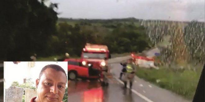 Acidente deixa uma pessoa morta e outras quatro feridas entre Jaraguá e Goianésia