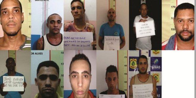 Doze presos fugiram da unidade prisional de Uruaçu, na manhã deste domingo