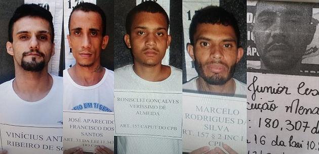 Presos fogem da cadeia de Jaraguá após furar buraco na parede da unidade prisional
