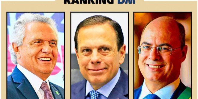 Os campeões políticos das redes sociais