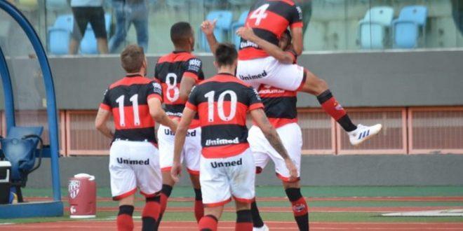 5×0: Atlético assume a liderança do Goianão com goleada diante do Jaraguá