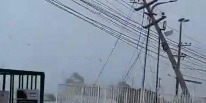 Chuva forte com ventania causa estragos na  na Forquilha em São Luís