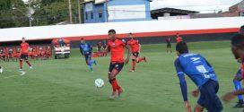Atlético goleia Capital e fecha ciclo de jogos treinos na preparação para Série A