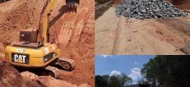 Goinfra inicia obra em bueiro que se rompeu entre Jaraguá e Goianésia