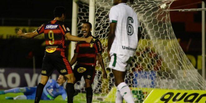 Goiás é derrotado pelo Sport e segue na lanterna do Campeonato Brasileiro