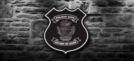EM MENOS DE UMA HORA  , A POLÍCIA CÍVIL DE GOIANÉSIA PRENDE EM FLAGRANTE  DOIS AUTORES  DE HOMICÍDIO QUALIFICADO E APREENDE A ARMA  DE FOGO UTILIZADA NO CRIME.