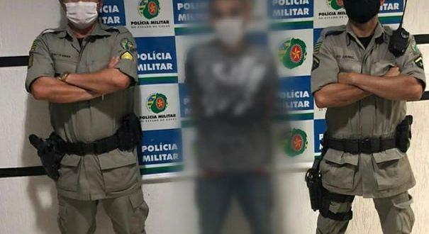 Foragido da justiça por assalto é recapturado em Goianésia