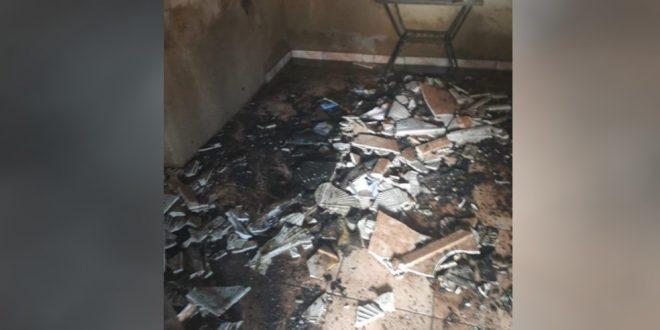 Adolescente coloca fogo em casa após mãe não deixá-lo jogar em celular, diz polícia