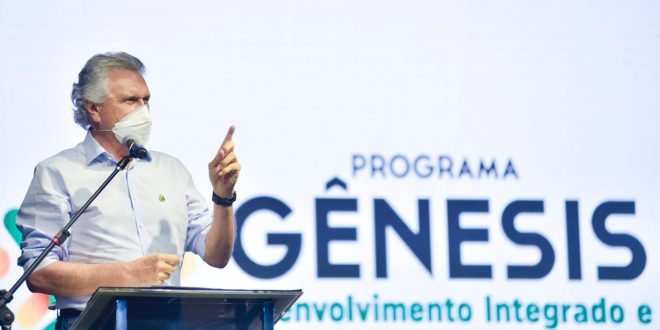 Caiado diz que consultas populares vão definir como Projeto Gênesis