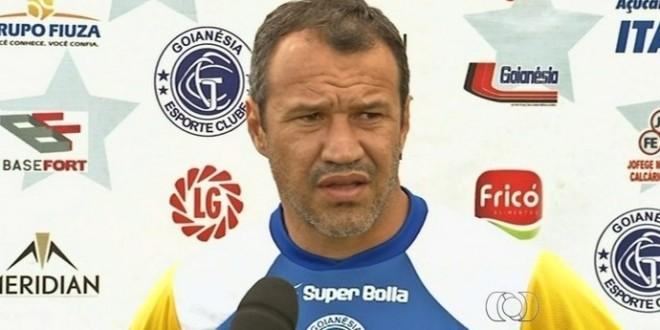 Romerito é  apresentado como treinador do Goianésia para Temporada 2016