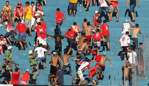 Goianésia Ganha  de 5 do Vila torcedores do Tigão se Revolta e faz arruaça em Goianésia
