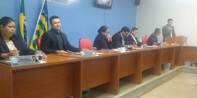 Renatinho (PTB) é eleito presidente da Câmara Municipal de Santa Rita do Novo Destino