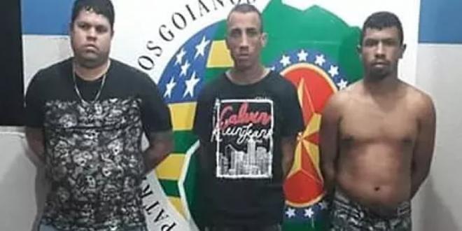 PM prende fugitivos do presídio de Jaraguá e integrantes de facção criminosa