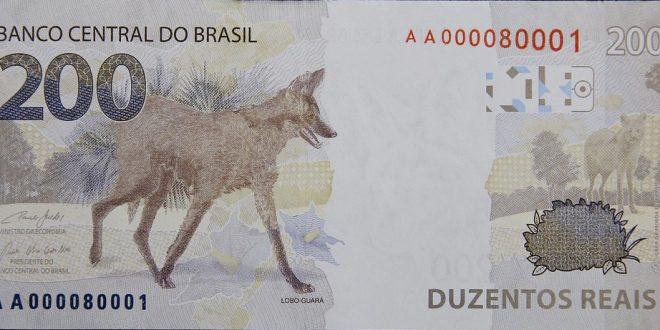Banco Central lança nota de R$ 200, com imagem de lobo-guará