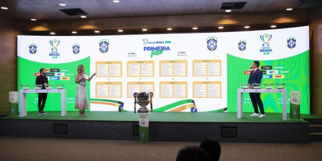 Sorteio define confrontos da Primeira Fase da Copa do Brasil 2021