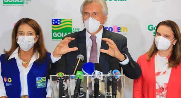 Governador Ronaldo Caiado e primeira-dama, Gracinha Caiado, lançam edital com 5 mil bolsas para Programa Universitário do Bem