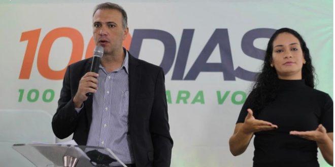Cerimônia virtual celebra as 100 primeiras ações da Prefeitura de Goianésia nos 100 primeiros dias da atual gestão