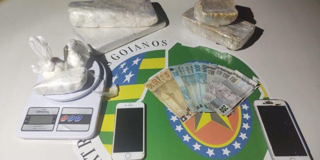 GPT GOIANÉSIA   NO COMBATE AO CRIME DE TRÁFICO ILÍCITO DE ENTORPECENTES.