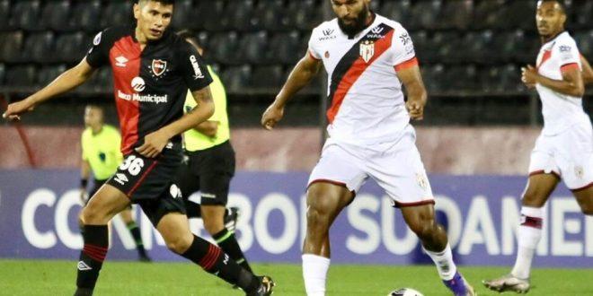 Atlético empata com Newell's Old Boys e acaba eliminado da Sul-Americana