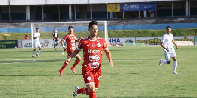 Com dois gols de letra, Vila Nova e Grêmio Anápolis empatam primeira decisão do Goianão