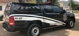 DELEGACIA DE POLÍCIA CIVIL DE GOIANÉSIA CUMPRE MANDADO