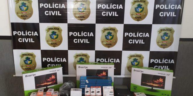 POLICIA CIVIL DE GOIANÉSIA PRENDE  EM FLAGRANTE PELO CRIME DE PECULATO SERVIDOR DA PREFEITURA DE GOIANÉSIA