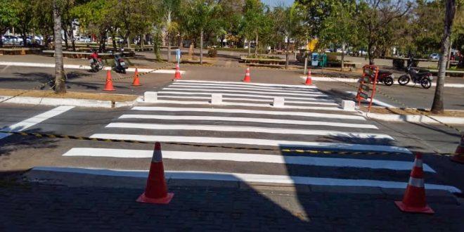 Detran-GO entrega sinalização de trânsito em Goianésia