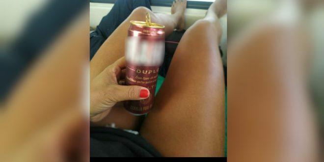 Técnica em enfermagem é suspeita de postar foto bebendo cerveja ao lado de paciente em ambulância, em Monte Alegre